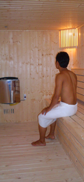 Club One Seven Sauna